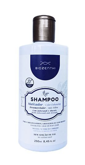 Shampoo Matizador Vegano Biozenthi - 250ml