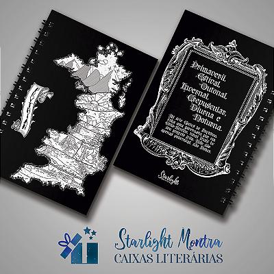 Caderninho | Corte de Espinhos e Rosas - Prythian