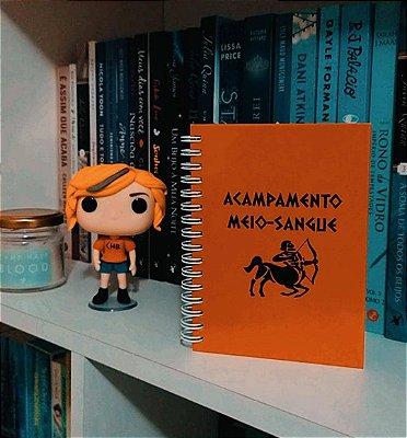 Caderninho | Acampamento Meio-Sangue