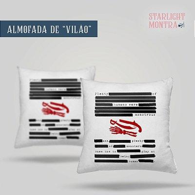 Almofada | Vilão - V. E. Schwab