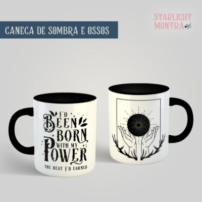 Caneca | Sombra e Ossos (Shadow and Bone)