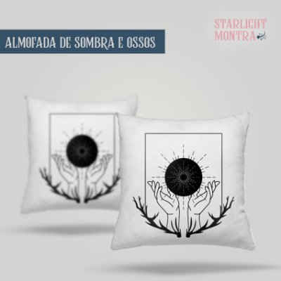 KIT Sombra e Ossos (Shadow and Bone) | Almofada + Caneca