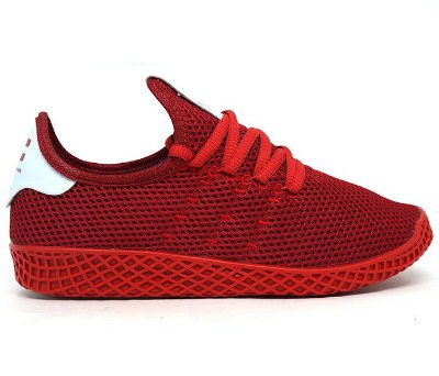 3741c60665 Tênis Adidas Pharrell Williams HU Marinho e Laranja - Confira Aqui ...