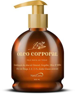 Óleo Corporal 300ml - Natucare - Rico em Ômega 3-6-7-9