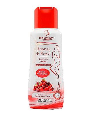 Sabonete Íntimo Aromas do Brasil 200ml - Bioinstinto Cosméticos