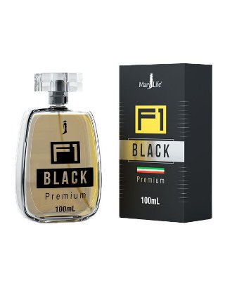 Perfume Masculino F1 Black 100ml - Mary Life