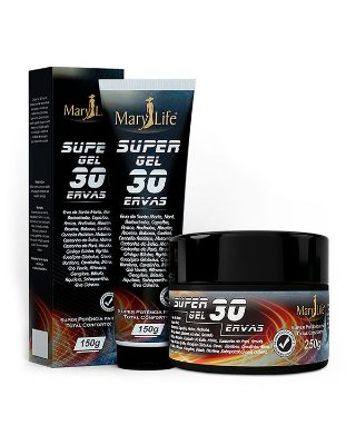 Super Gel 30 Ervas - Mary Life