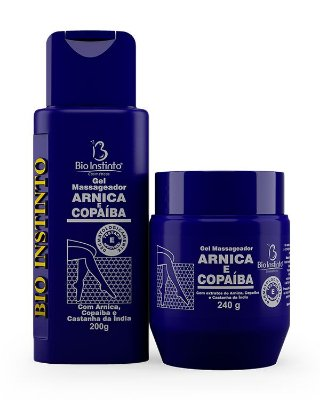Gel Arnica e Copaíba - Bioinstinto Cosméticos