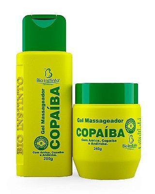Gel Massageador Copaíba - Bioinstinto Cosméticos