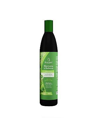 Shampoo Mamona e Babosa 400ml - BioInstinto Cosméticos