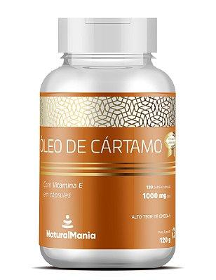 Óleo de Cártamo + Vitamina E com 120 cápsulas - Naturalmania