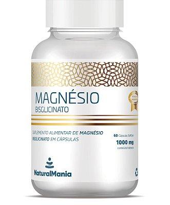 Magnésio Bisglicinato 60 Cápsulas - Naturalmania