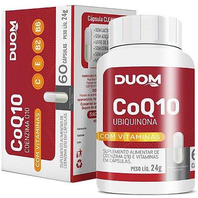 Coenzima Q10 + Vitaminas 60 caps Duom