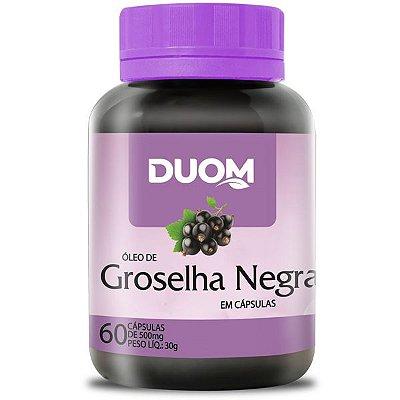 Groselha Negra 500mg 60caps Duom