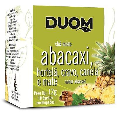 Chá de Abacaxi com Hortelã e Especiarias 10 sachês Duom