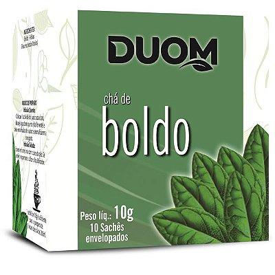 Chá de Boldo 10 sachês Duom