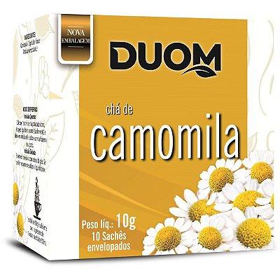 Chá de Camomila 10 sachês Duom