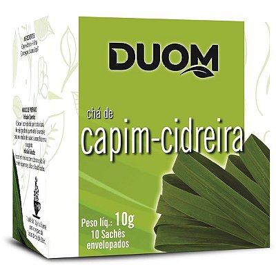 Chá de Capim Cidreira 10 sachês Duom