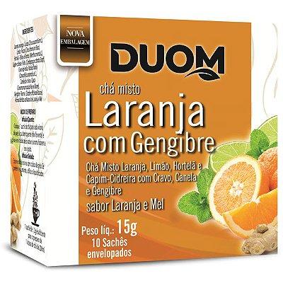 Chá Misto Laranja e Mel 10 sachês Duom