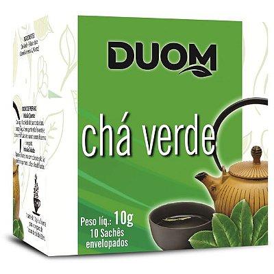 Chá Verde 10 sachês Duom