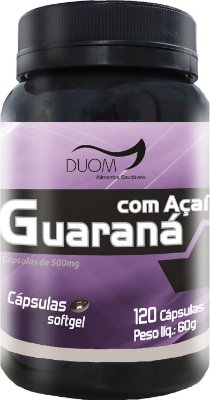 Guaraná com Açaí 500mg 120caps Duom