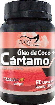 Óleo de Cártamo + Coco 1000mg 120caps Duom