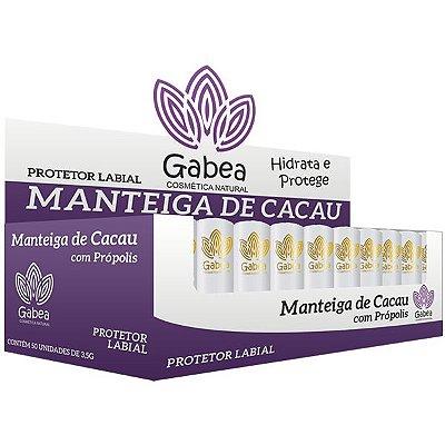 Protetor Labial Manteiga de Cacau Gabea - Display 50un