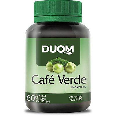 Café Verde 500mg 60caps Duom