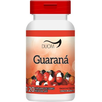 Guaraná 400mg 120caps Duom