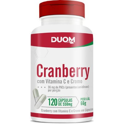 Cranberry 550mg  120caps Duom