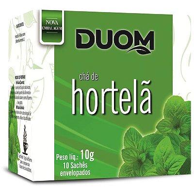 Chá de Hortelã 10 sachês Duom