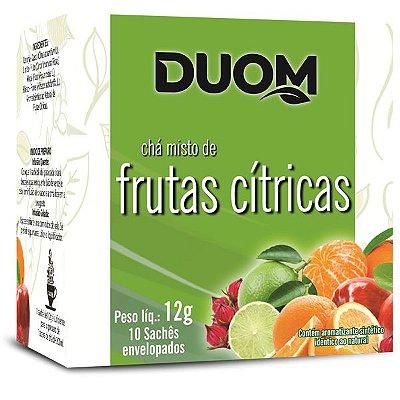Chá de Frutas Cítricas 10 sachês Duom