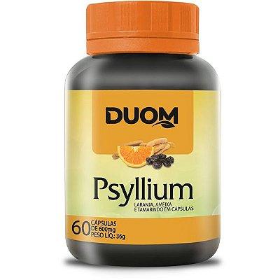 Psyllium com Laranja, Ameixa e Tamarindo 60caps Duom
