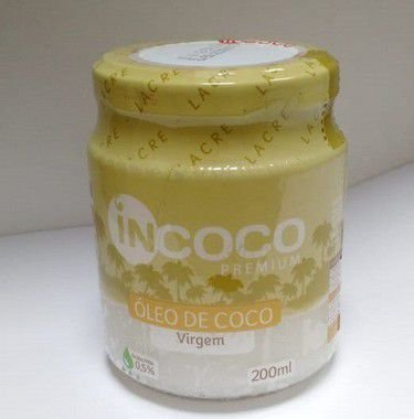 Óleo de Coco Virgem 200ml Incoco