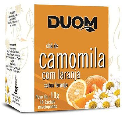 Chá de Camomila com Laranja 10 sachês Duom