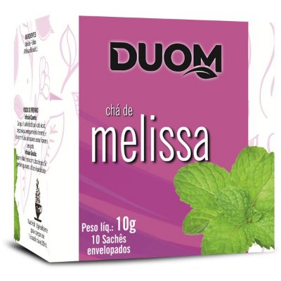 Chá de Melissa 10 sachês Duom