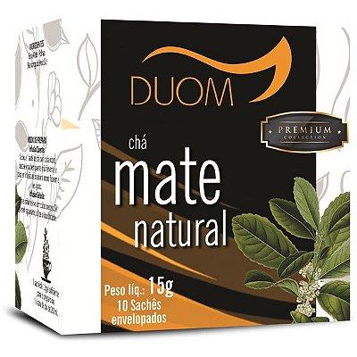 Chá Mate Natural Premium 10 sachês Duom