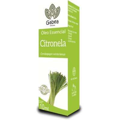 Óleo Essencial de Citronela 10ml Gabea