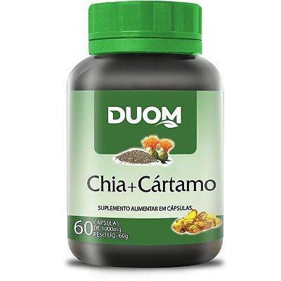 Óleo de Chia + Cártamo 1000mg 60caps Duom