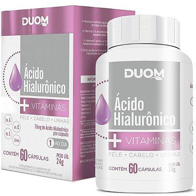 Ácido Hialurônico + Vitaminas 60caps Duom