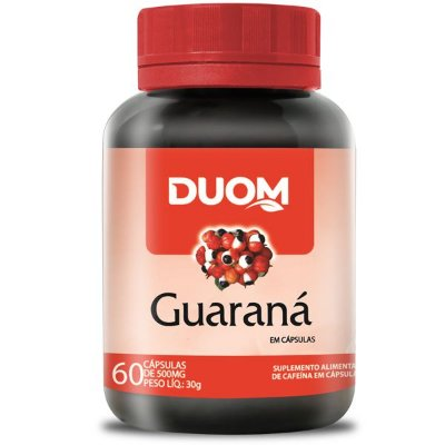 Guaraná 400mg 60caps Duom