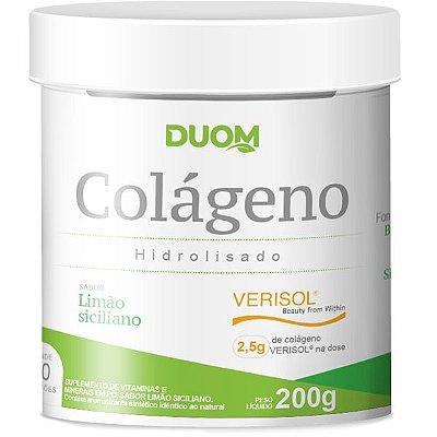 Colágeno Verisol 200g Sabor Limão Siciliano Duom