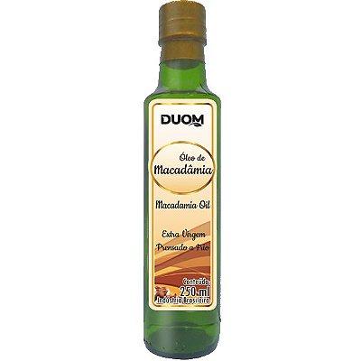 Oleo de Macadamia Prensado a Frio 250ml Duom