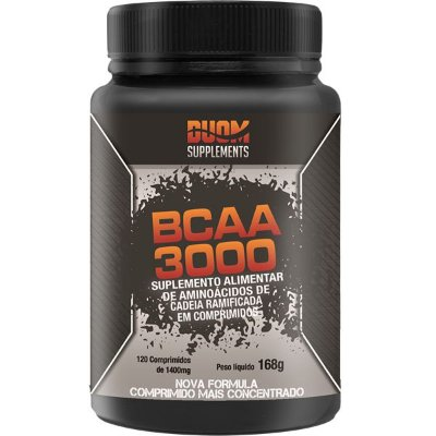 BCAA 3000 - 120 caps Duom Supplements
