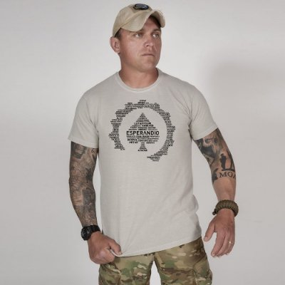 Camiseta de Algodão Estonada  Cinza Concept 2.0