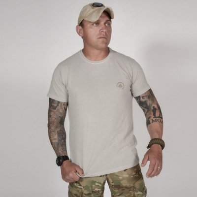 Camiseta de Algodão Estonada Cinza Etc Basic