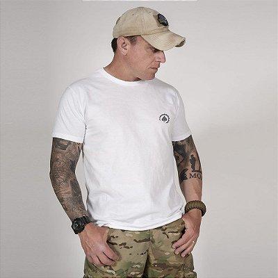 Camiseta de Algodão Estonada Branca Concept 2.0