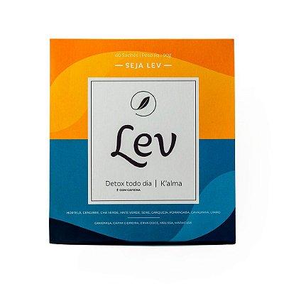 Chá LEV Detox com cafeína + K'alma
