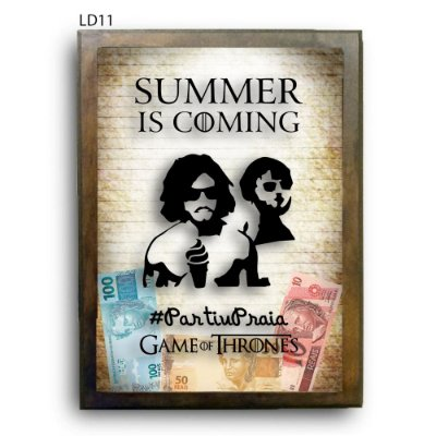 Quadro Cofre GoT Summer is Coming LDQC15