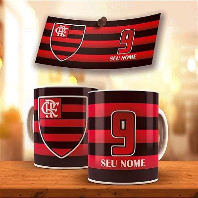Caneca Time do Coração Flamengo 325ml
